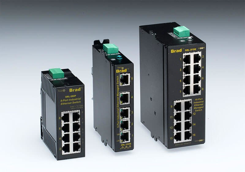 Industria switches ethernet