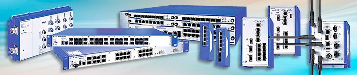 Switches Hirschmann redes industriales
