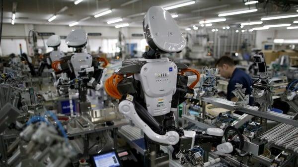 Los robots como nuevos empleados en las fábricas