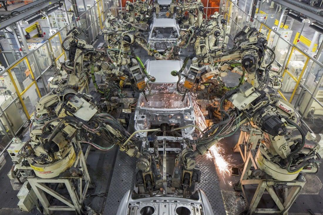 Ciberseguridad en la robótica industrial