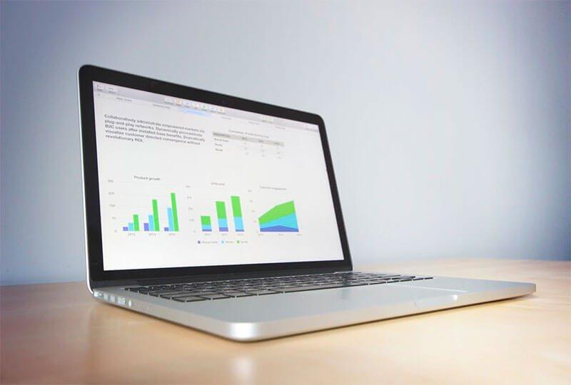 Dashboard digital gestión datos